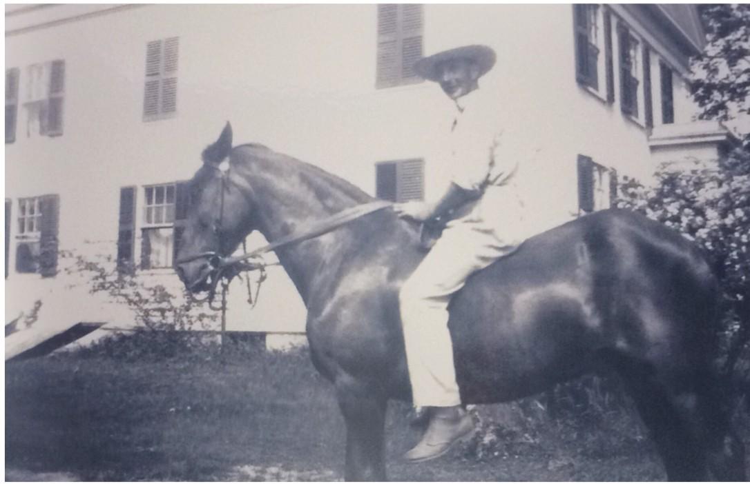 Frank Harris and the Farm House