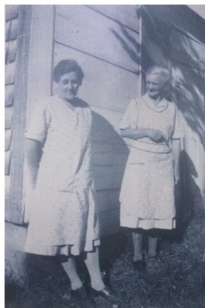 Lula Smith and Florence Harris.mungersisters